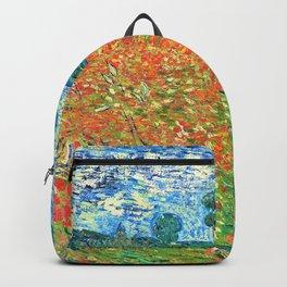Vincent van Gogh - Poppy Field - Digital Remastered Edition Backpack