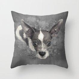 LiAM (puffy cloud) Throw Pillow