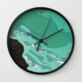 Lighthouse Beach Wall Clock