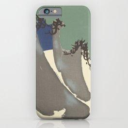 Kamisaka Sekka - Flowers of a Hundred Worlds - Pine Trees (1909) iPhone Case