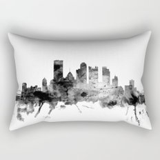 Pittsburgh Pennsylvania Skyline Rectangular Pillow