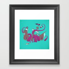 Phil McKraken Framed Art Print