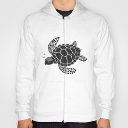 Vector of turtle design on a white background. Easy editable layered vector illustration. wild animals. Hoody