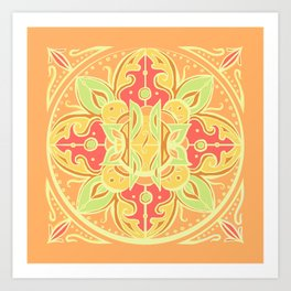 Oranges and Sunshine Art Print
