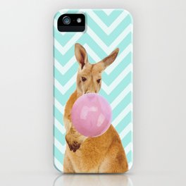 Bubble Gum - Kangaroo iPhone Case