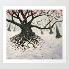 autumnal winter Art Print