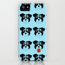 Dogs Blue iPhone Case