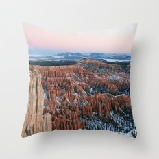 Bryce Canyon Sunrise Throw Pillow