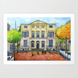 Shire Hall, Chelmsford Art Print