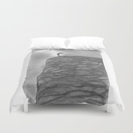 I need the Moon & the Moon needs Me Duvet Cover