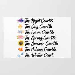 ACOTAR Courts Rug