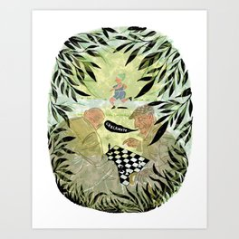 Check Mate Art Print