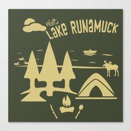 Lake Runamuck Canvas Print