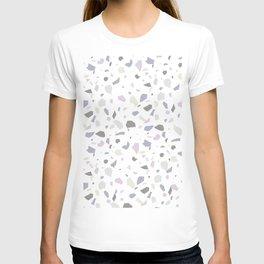 Nobody Knows - Terrazzo Pattern T-shirt