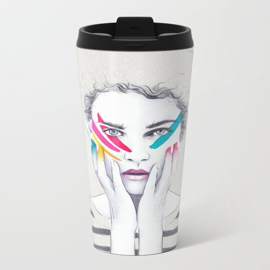 War Paint Ramona Metal Travel Mug