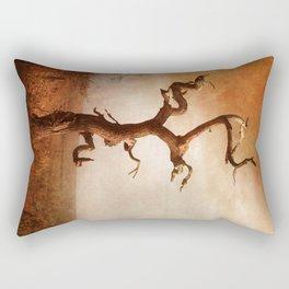 Textured Tree in Gateshead Rectangular Pillow