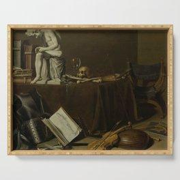 Pieter Claesz. - Vanitas Still Life with the Spinario Serving Tray
