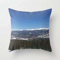 colorado Throw Pillows featuring Colorado by A&N2218