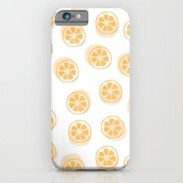 Kumquat Pattern iPhone Case