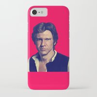 han solo iPhone & iPod Cases featuring Han Solo  by Jemma Klein