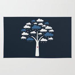 Cloud Tree Rug