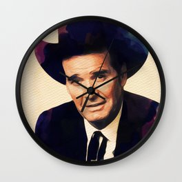 James Garner, Hollywood Legend Wall Clock