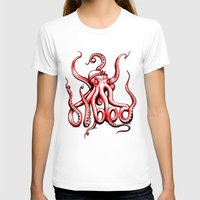 gangster T-shirts featuring Gangster Octopus by Milo Firewater