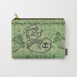 Green Pattern Popeye Carry-All Pouch