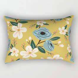 Adelaide Floral Rectangular Pillow