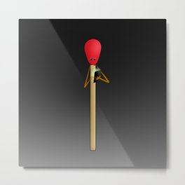 swiping for a perfect match Metal Print