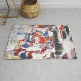 Mark Rothko - No 18 - 1946 Artwork for Wall Art, Prints, Posters, Tshirts, Men, Women, Youth Rug