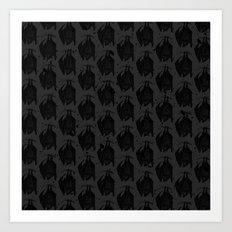 Bats VIII Art Print