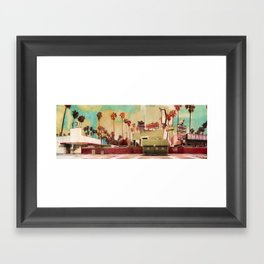 Harper's Garage Framed Art Print