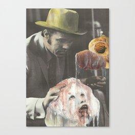 Burroughs Black Meat Canvas Print