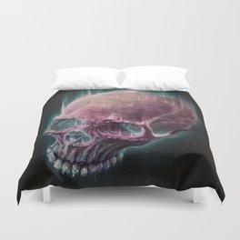 Glow Skull Duvet Cover