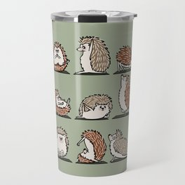 Hedgehog Yoga Travel Mug