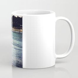 Longboard Pier Coffee Mug