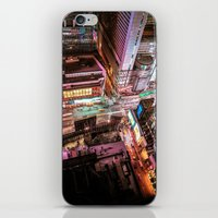 nyc iPhone & iPod Skins featuring NYC  by Vivienne Gucwa
