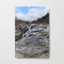Eas Urchdaidh Waterfall Metal Print