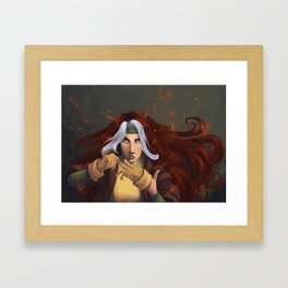 Gloves Off Framed Art Print