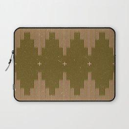 Southwestern Minimalist Retro Green & Pink Laptop Sleeve