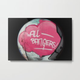 Wall Bangers Metal Print