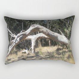 Fallen Red Gum Rectangular Pillow