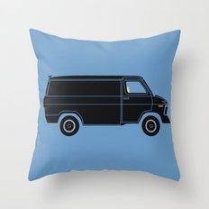 KITT Van Throw Pillow