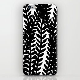 Seaweed Silhouette iPhone Skin