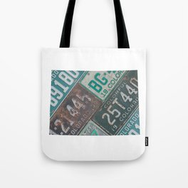Vintage Colorado Tote Bag