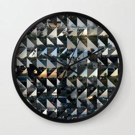Commuter Quilt Wall Clock