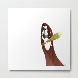 The Lady Demeter, Earth Mother Metal Print