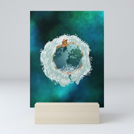 Mother Earth - Mother Nature - Love Earth Mini Art Print
