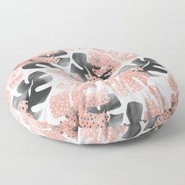 Monstera shadow Floor Pillow